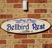 Bellbird Rest Bed and Breakfast accommodation Central Coast